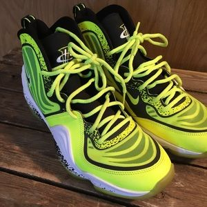 2013 Nike Air Penny 5 volt highlighter